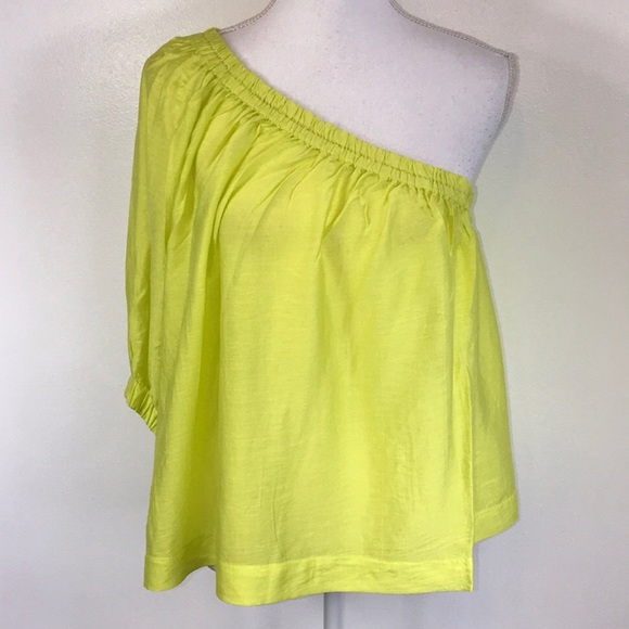 ee4894183911b NEW Maeve Anthropologie Leonie Yellow Blouse